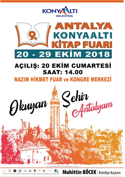 Antalya Konyaalti Kitap Fuari